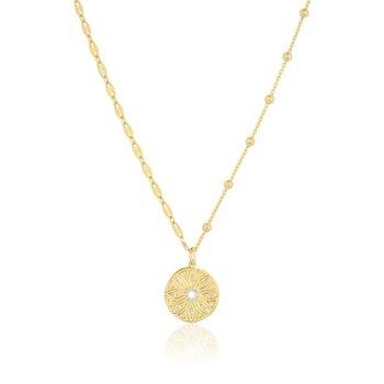 Mini Flower Medallion | Mismatch Chain
