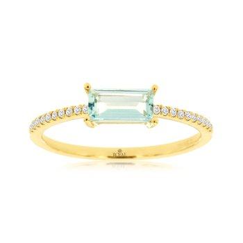 Gold Fashion Ladies Ring