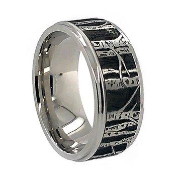 Cobalt Chrome Aspen Wedding Band