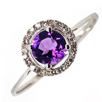 Birthstone Ring - Amethyst