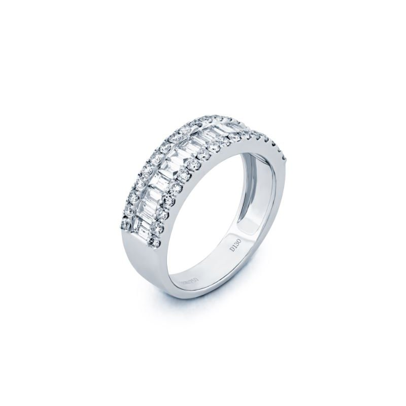 Lauray's Signature Collection White Gold Diamond Band