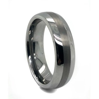Dome Tungsten Band