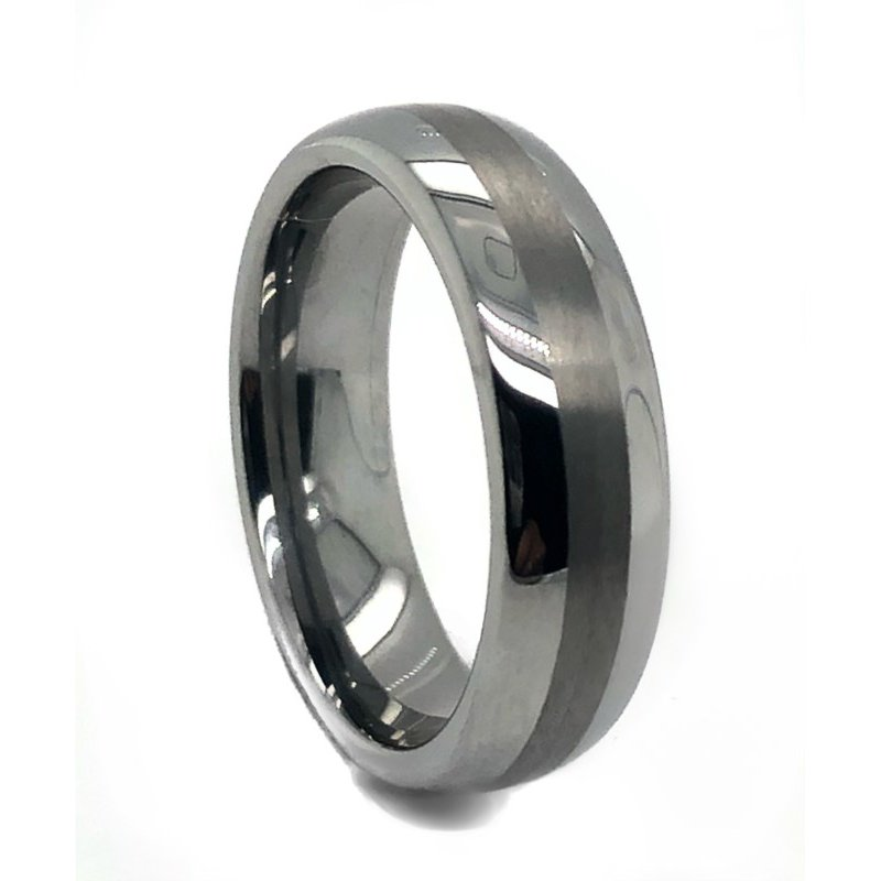 Lauray's Signature Collection Dome Tungsten Band