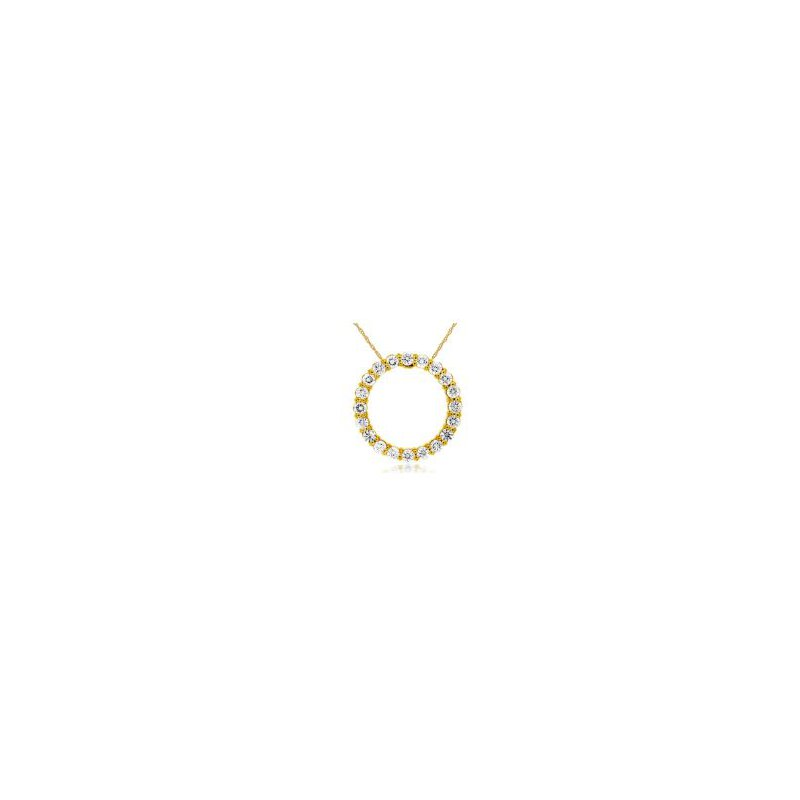 Lauray's Signature Collection Diamond Circle Pendant