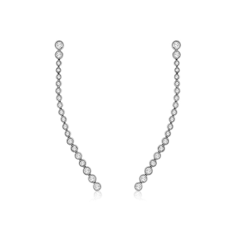 Lauray's Signature Collection Diamond Drop Earring