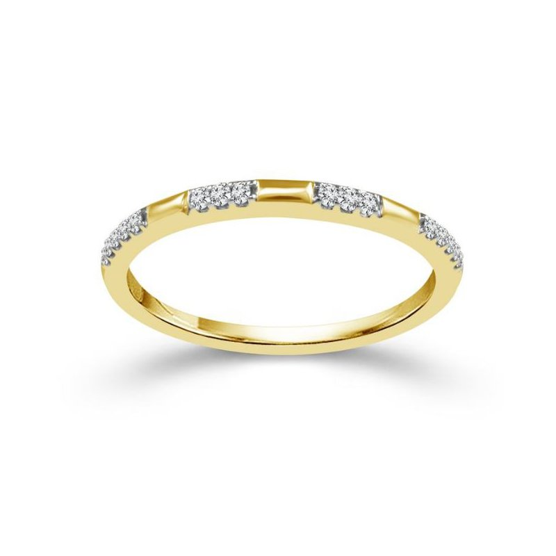 Lauray's Signature Collection Yellow Gold Stackable Band
