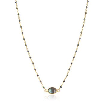 Libi Labradorite Necklace