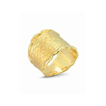 Yellow Gold Gallery Ring