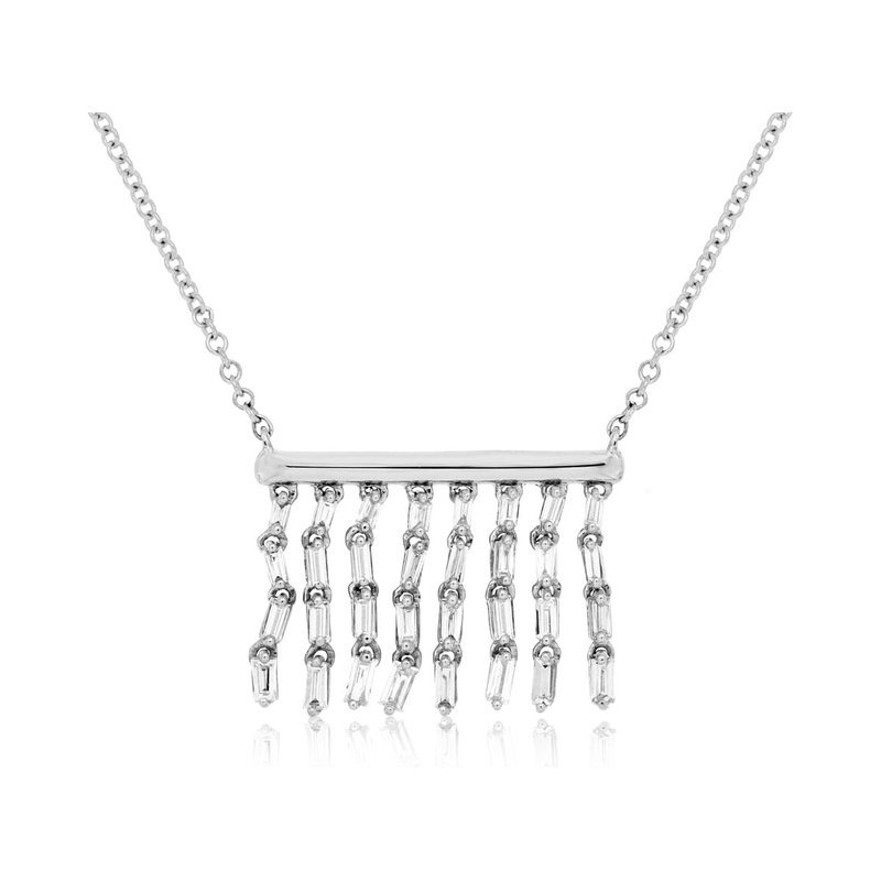 Lauray's Signature Collection Chandelier Diamond Necklace