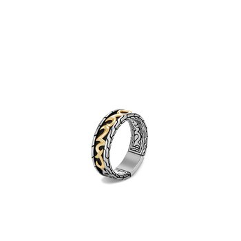 Classic Chain Keris Dagger Band Ring
