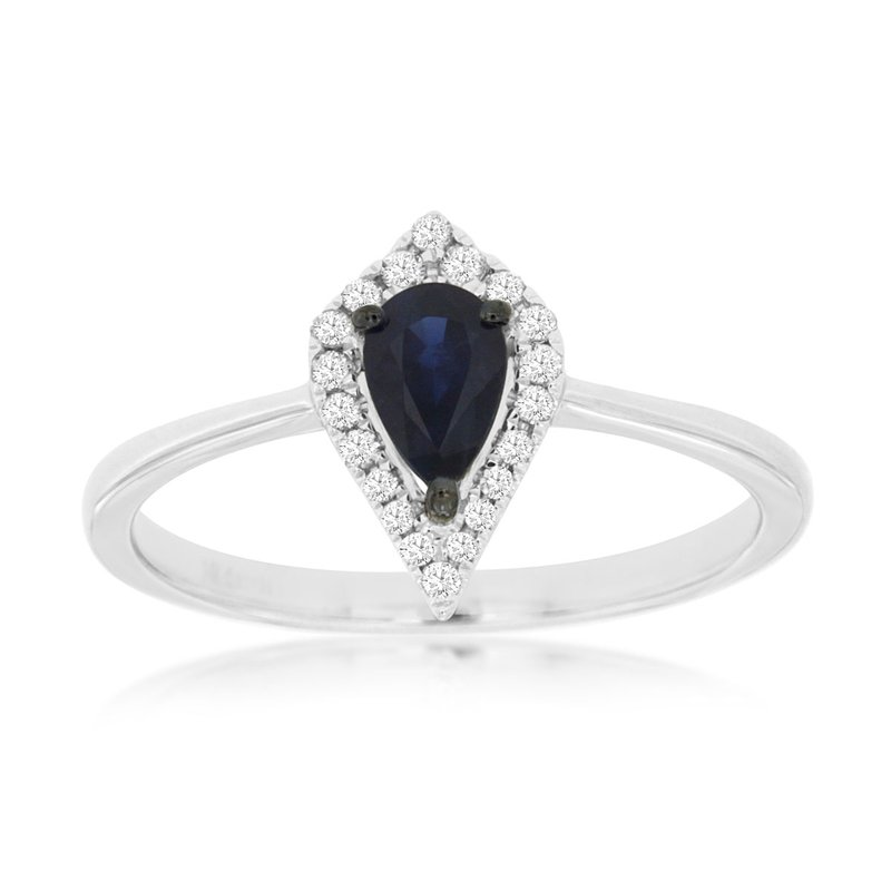 Lauray's Signature Collection Sapphire and Diamond Ring