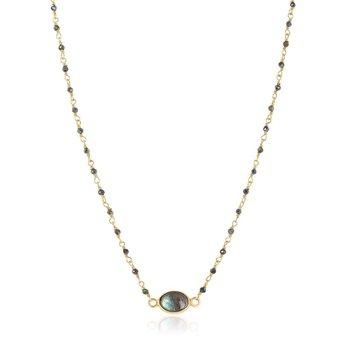 Libi Labradorite Necklace