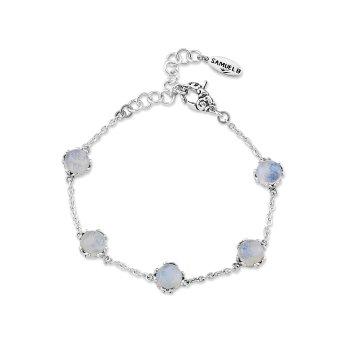 Moonstone Station Bracelet