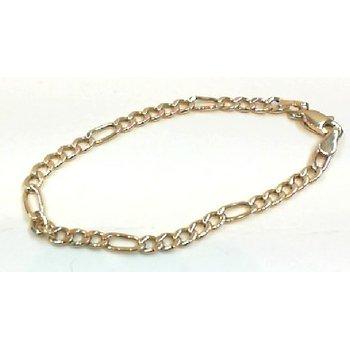 Figaro 3 Millimeter Baby Bracelet