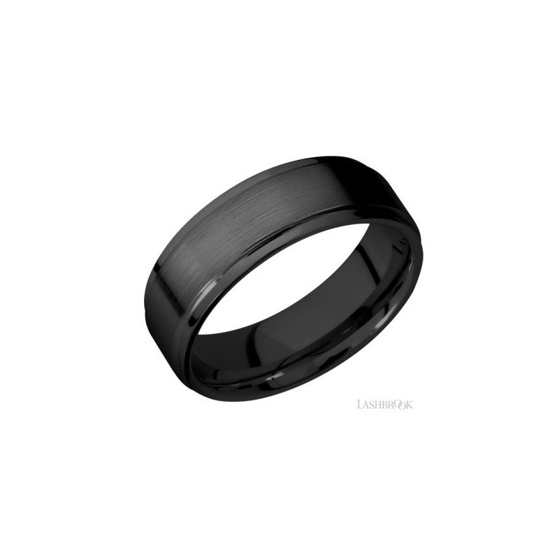 Lashbrook Men's Zirconium Band