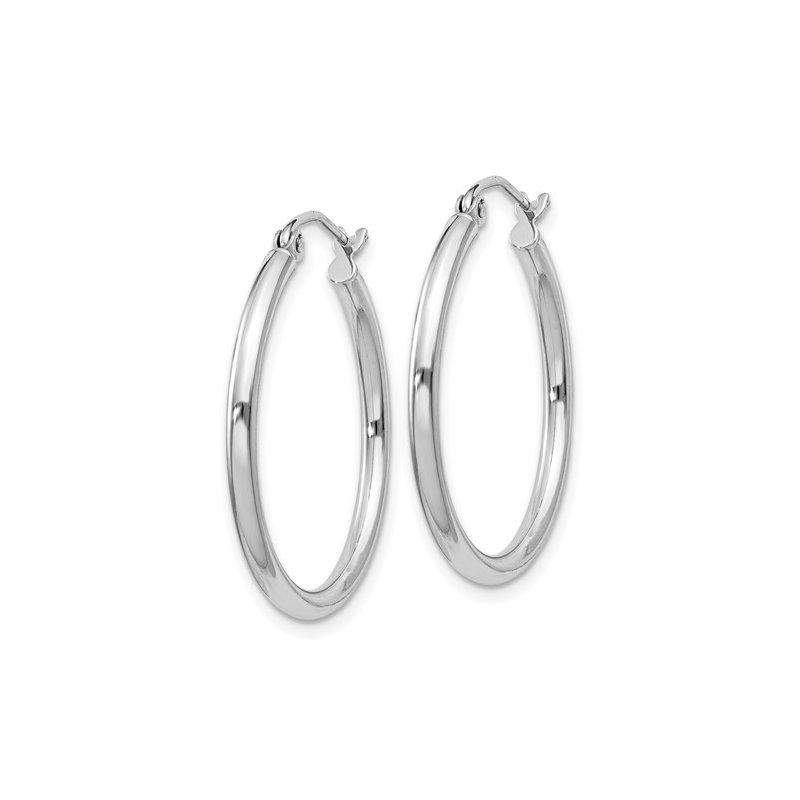 Murphy Pitard Signature Collection Medium Tube Hoop Earrings