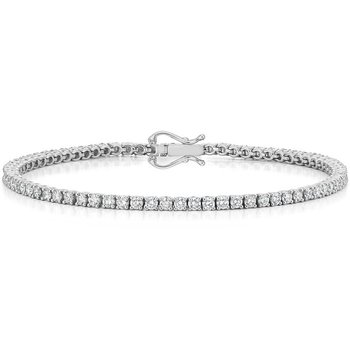 Round Diamond 3 1/4 Carat Tennis Bracelet