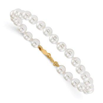 Baby Shell Pearl Bracelet