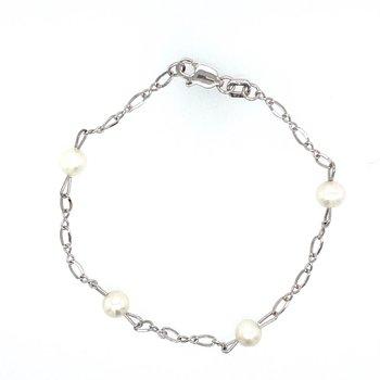 Pearl Link Baby Bracelet