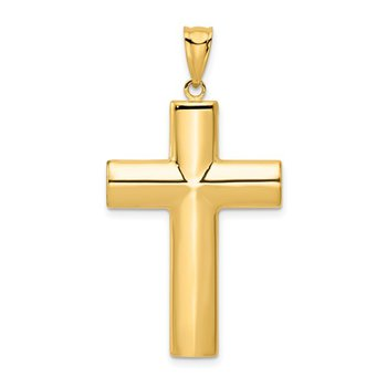 Medium Gold Polished Cross