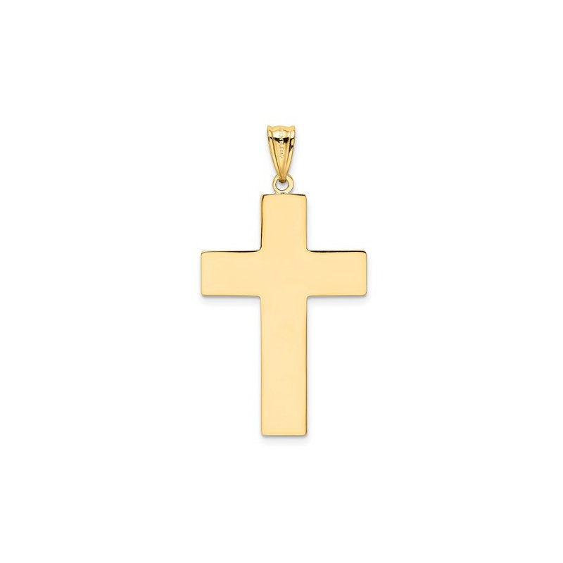 Murphy Pitard Signature Collection Medium Gold Polished Cross