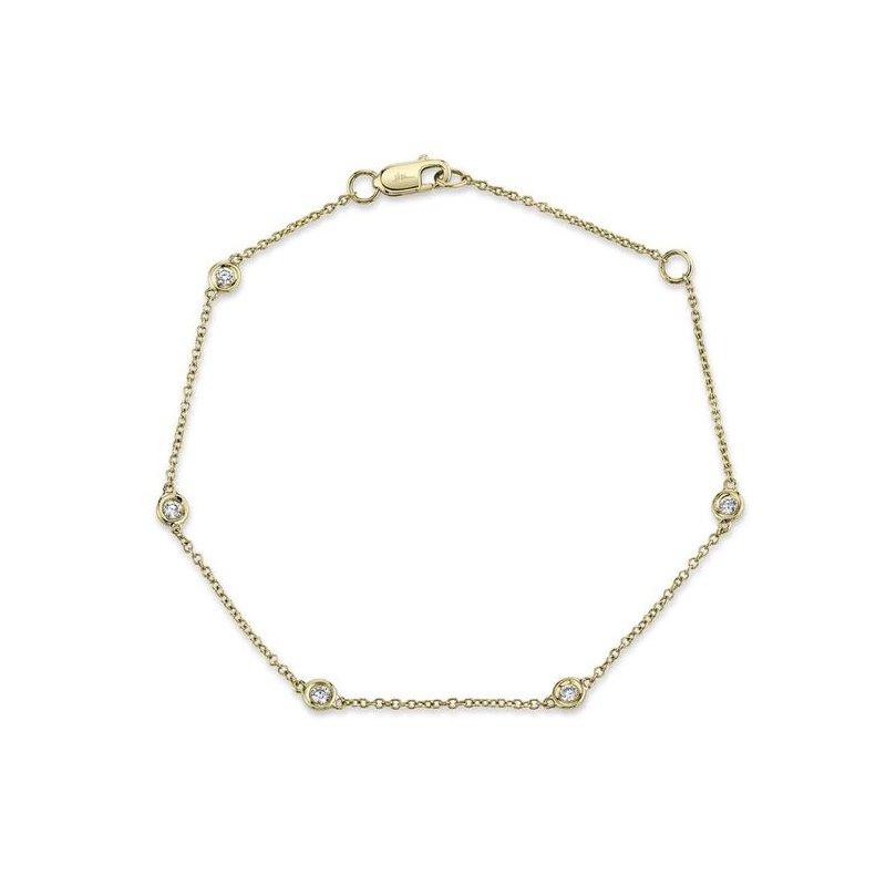 Shy Creation Diamond By The Yard Station Bracelet