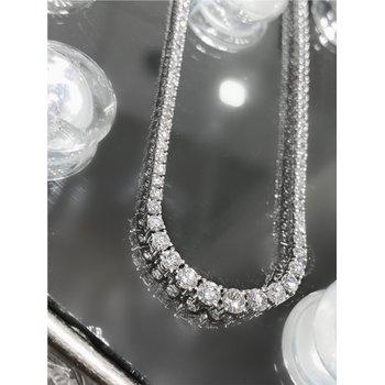Diamond Tennis Style 6 Carats Necklace