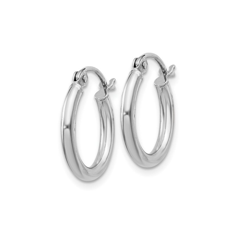 Murphy Pitard Signature Collection Small Tube Hoop Earrings