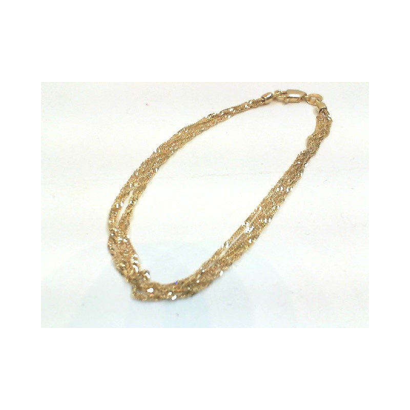 Murphy Pitard Estate Collection Multi-Strand Twisted Curb Bracelet