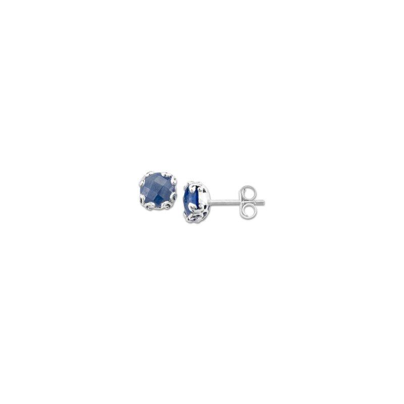 Samuel B. Blue Sapphire Studs