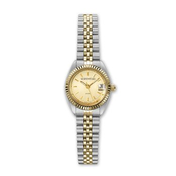 Classic Murphy Pitard Two Tone 24 Millimeter Dress Watch