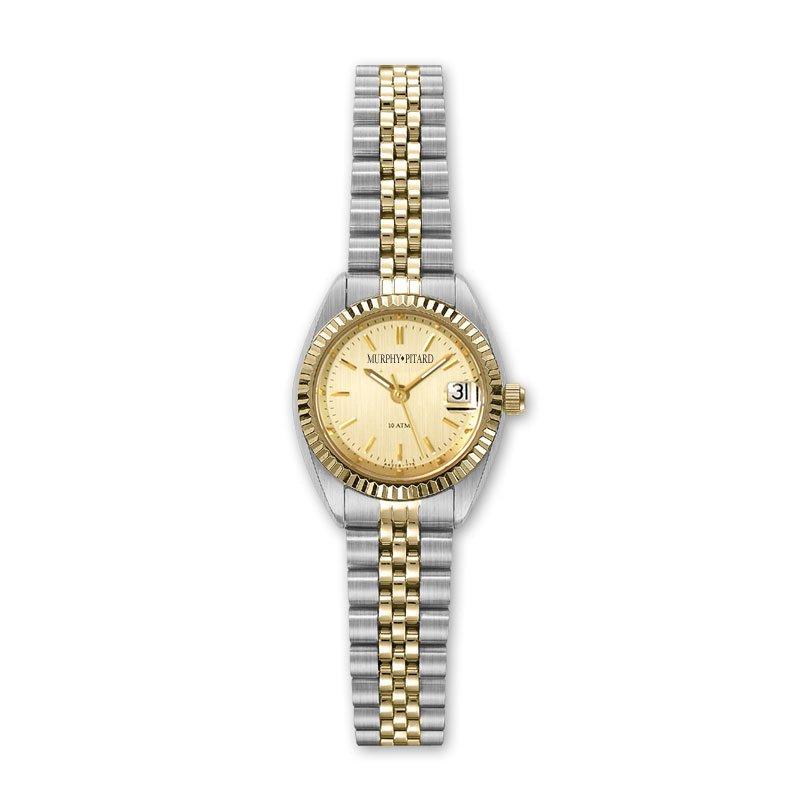 Murphy Pitard Signature Collection Classic Murphy Pitard Two Tone 24 Millimeter Dress Watch