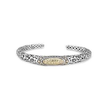 Oval Floral Bracelet