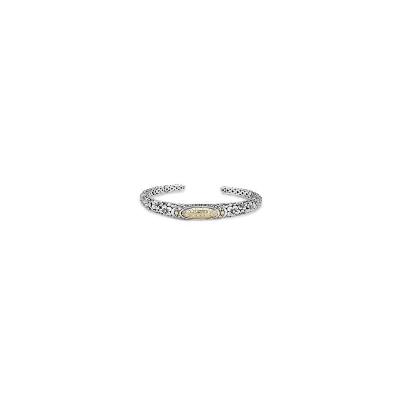 Samuel B. Oval Floral Bracelet
