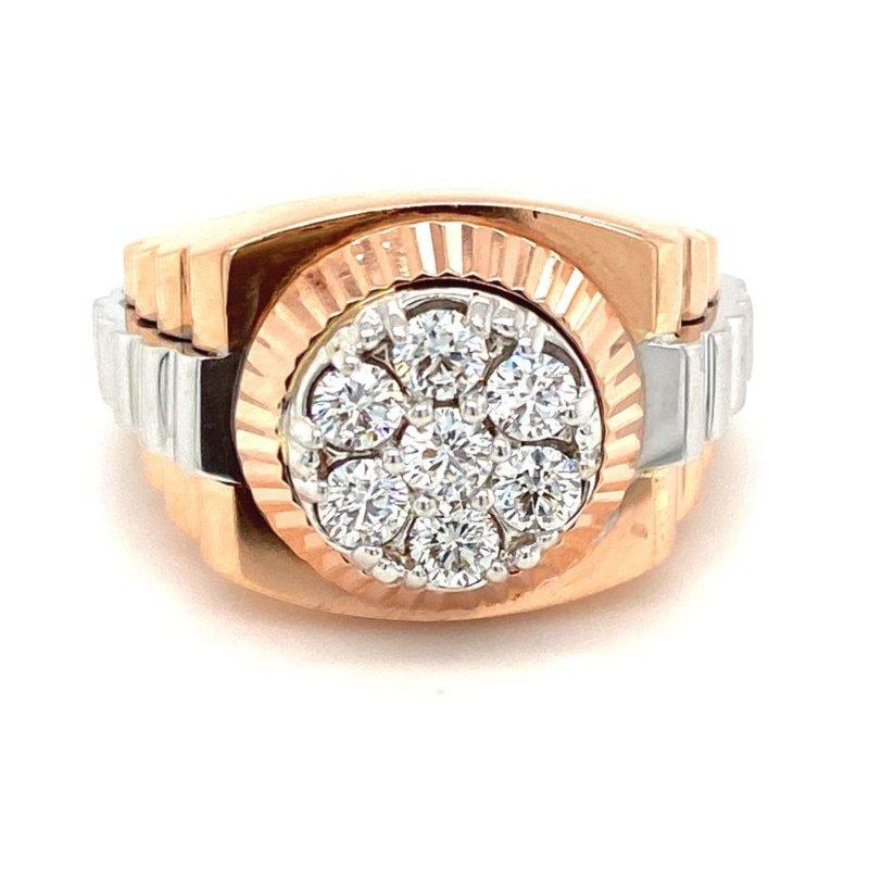 Murphy Pitard Signature Collection Diamond Rolex Style Fashion Ring