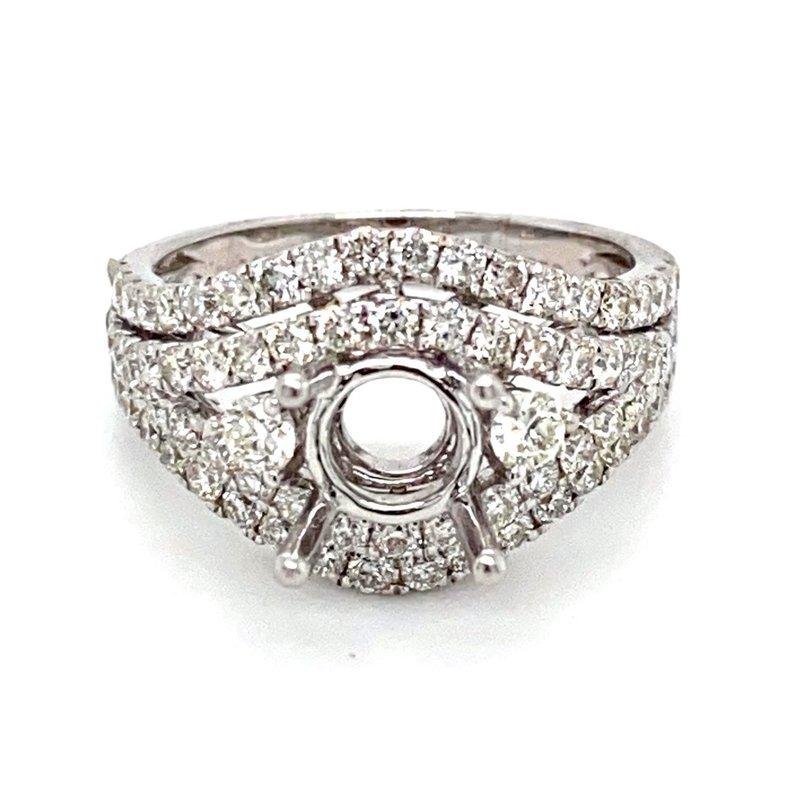 Murphy Pitard Signature Collection Diamond Split Band Engagement Ring