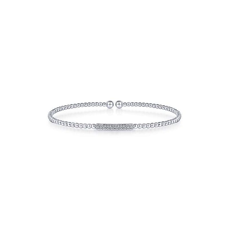 Gabriel & Co. New York Diamond Bujukan Bangle Bracelet