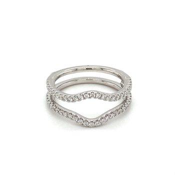 Diamond Contoured Ring Guard
