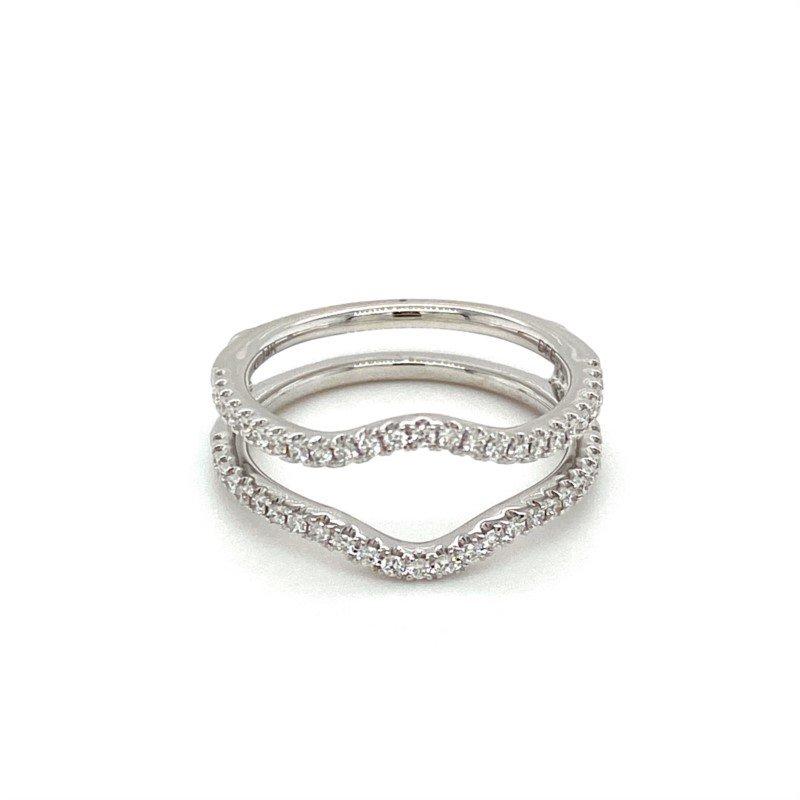 Murphy Pitard Signature Collection Diamond Contoured Ring Guard