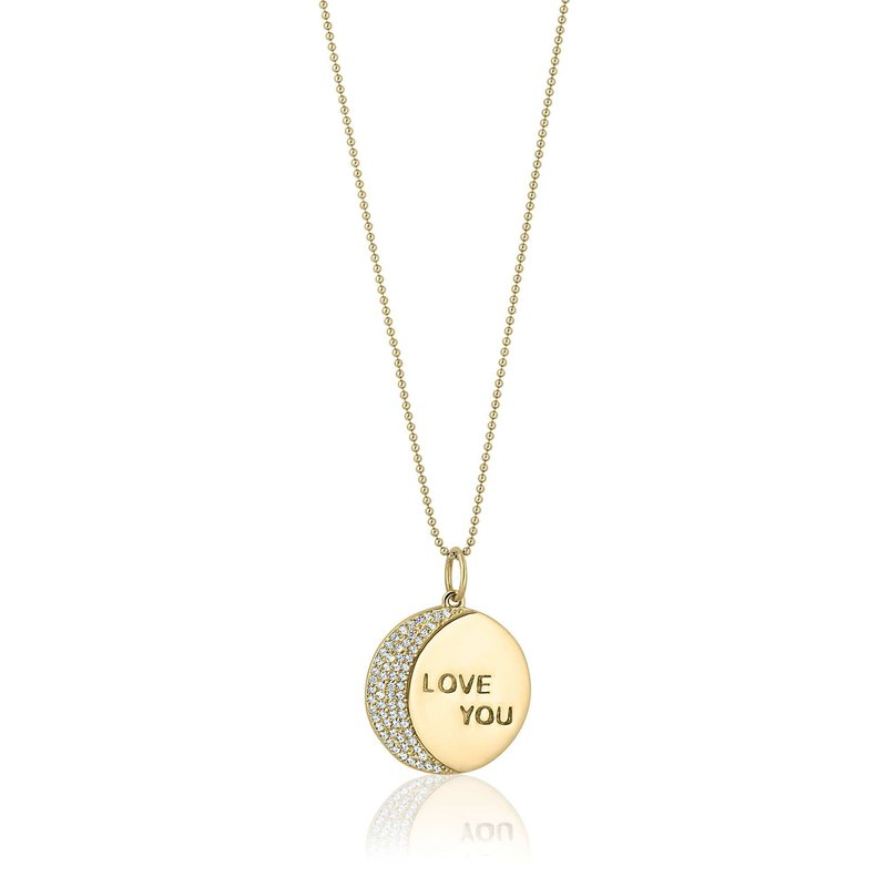 ela rae new york city Love You To The Moon and Back Necklace