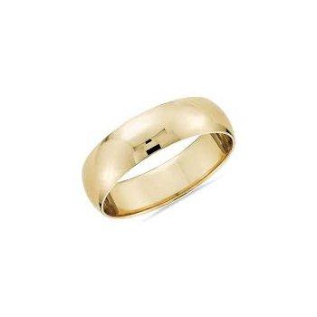 Half Round 6 Millimeter Wedding Band