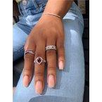 Murphy Pitard Signature Collection Round Diamond & Princess Cut Ruby Fashion Band