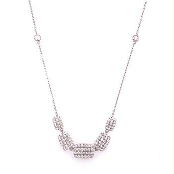 Pavé Diamond Fashion Necklace