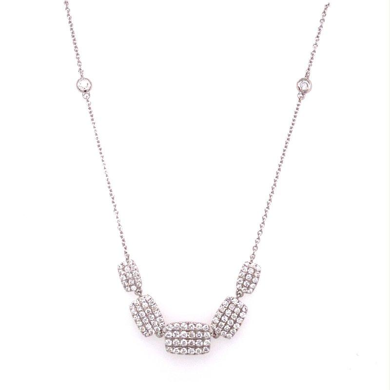 Murphy Pitard Signature Collection Pavé Diamond Fashion Necklace