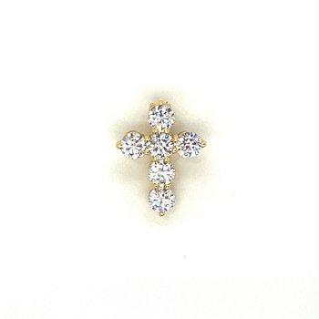 Diamond 1/4 Carats Petite Cross