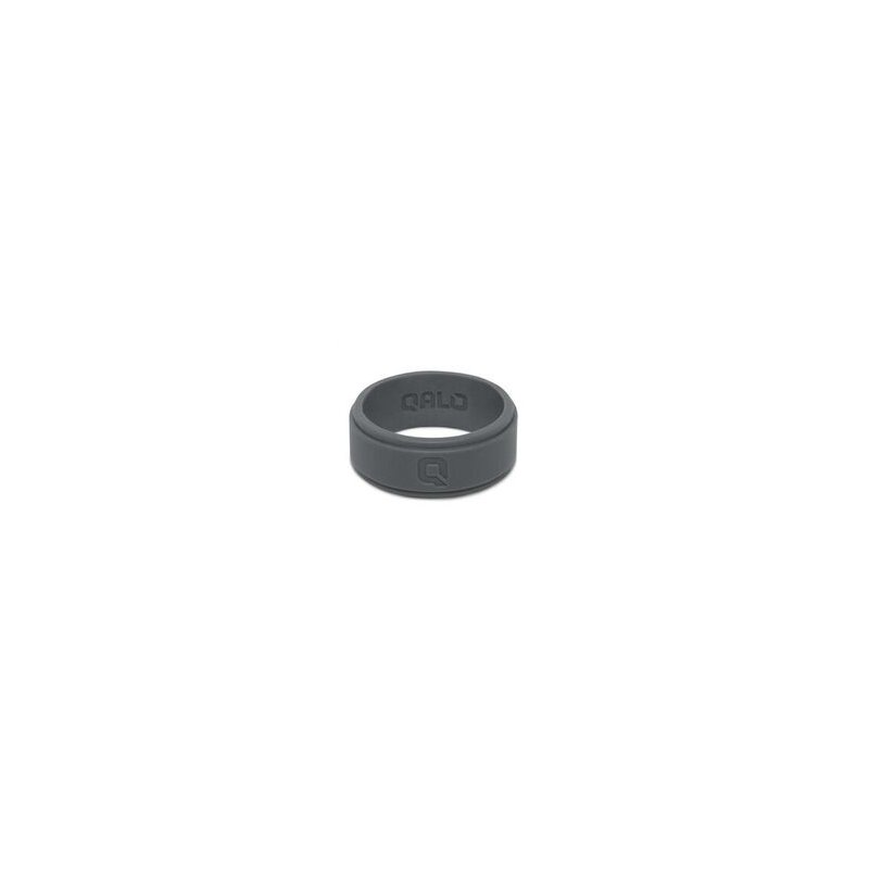 Qalo Men's Flat Step Q2X Silicone Ring Size 8