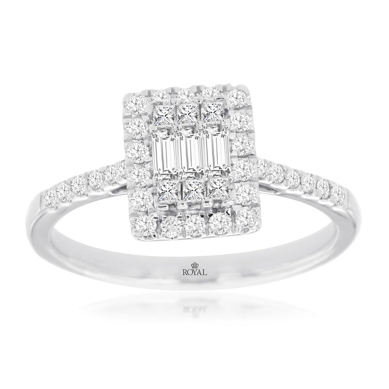 Murphy Pitard Signature Collection Diamond Accented Engagement Ring