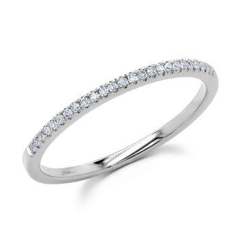 Diamond .08 Carats Stackable Band