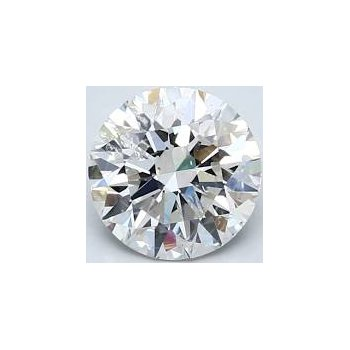 Round Brilliant 3/4 Carats Loose Diamond