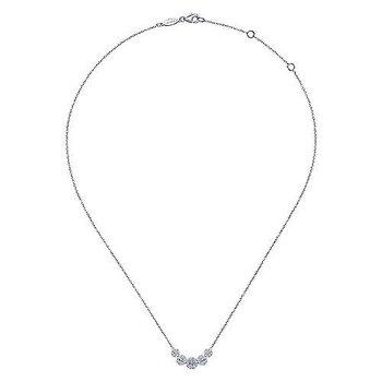 Diamond Halo Fashion Necklace